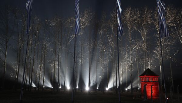 75e anniversaire de la libération du camp d'extermination d'Auschwitz-Birkenau - Sputnik France