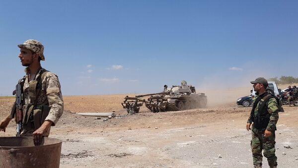 Des soldats syriens dans le gouvernorat d'Idlib (archive photo) - Sputnik France