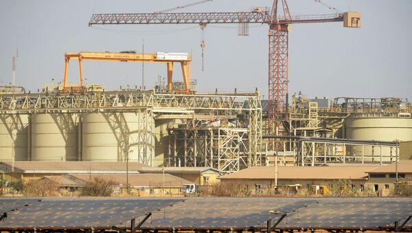 La mine d'extraction aurifère du canadien IamGold à Essakane, au Burkina Faso. - Sputnik France