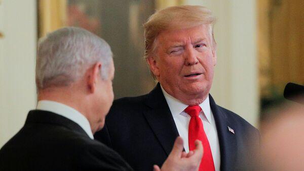 Donald Trump et Benjamin Netanyahou - Sputnik France