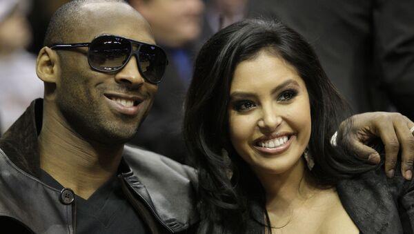 Kobe Bryant et son épouse, Vanessa (archive photo) - Sputnik France