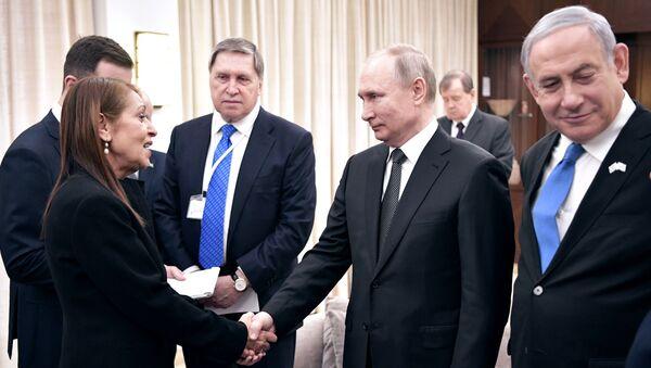 Рабочий визит президента РФ В. Путина в Израиль - Sputnik France