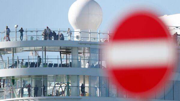 Le Costa Smeralda, navire de croisière de Costa Crociere, dans le port de Civitavecchia - Sputnik France