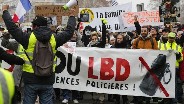 Manifestation anti-LBD - Sputnik France