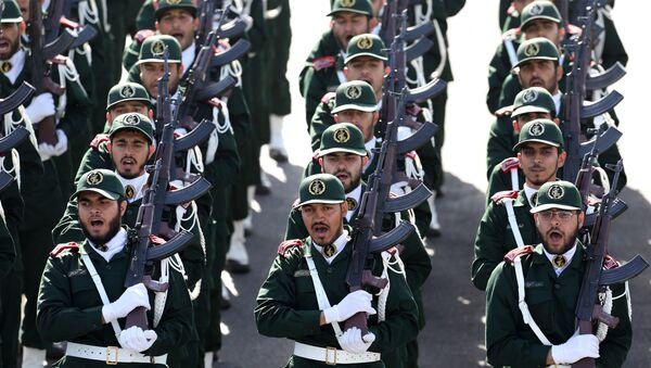 Un défilé des Gardiens de la révolution islamique (archive photo) - Sputnik France
