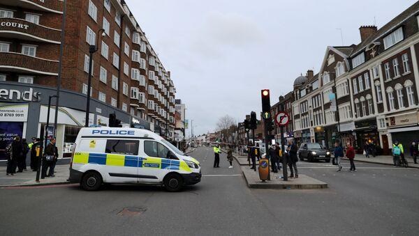 La police britannique à Streatham, dans le sud de Londres - Sputnik France
