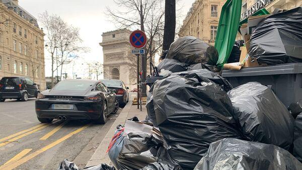Grève des éboueurs 2020 - paris - Sputnik France