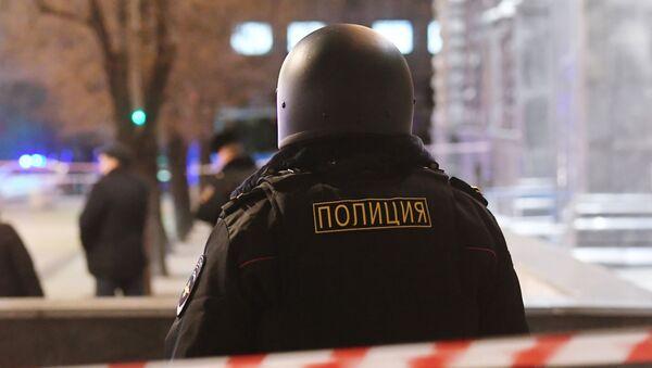 Un policier russe - Sputnik France