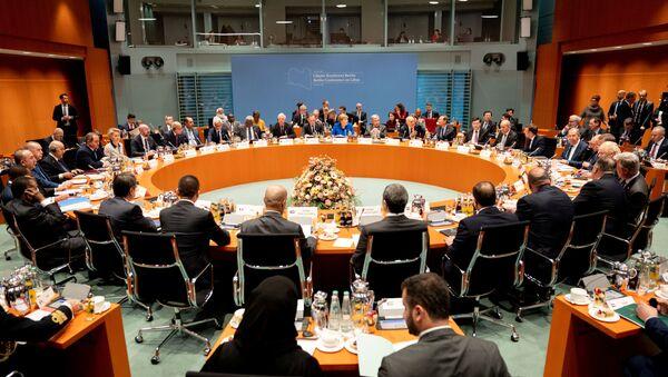 Conférence de Berlin sur la Libye - Sputnik France