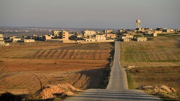Ситуация в населенном пункте ад-Дейр аш-Шаркий в Сирии - Sputnik France