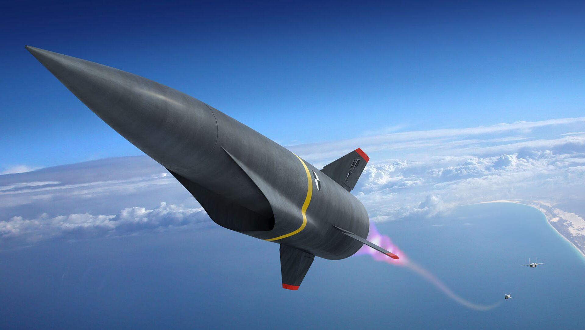 Lancement d'un missile hypersonique (conception d'artiste) - Sputnik France, 1920, 20.02.2021