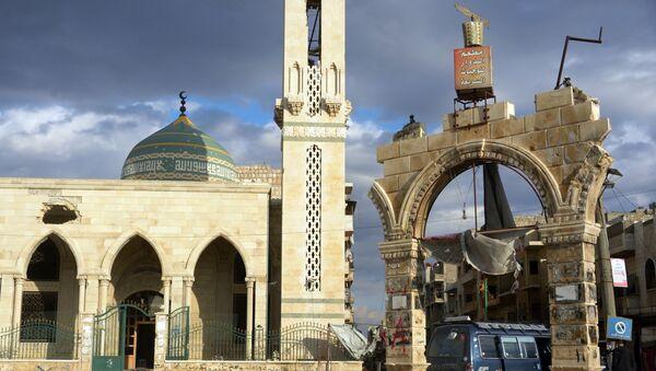 Mosquée à Maaret al-Nouman - Sputnik France