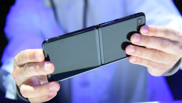Презентация смартфона Samsung Galaxy Z Flip - Sputnik France
