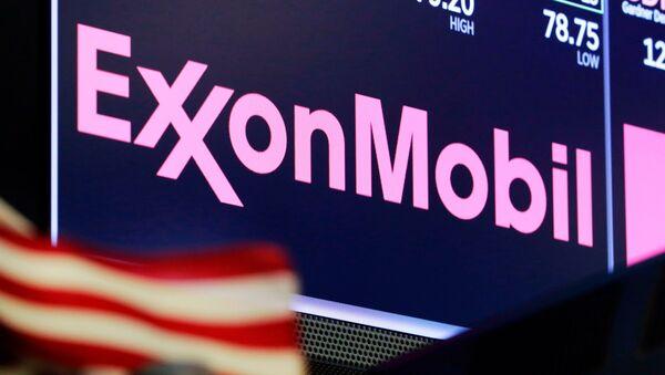 ExxonMobil logo - Sputnik France