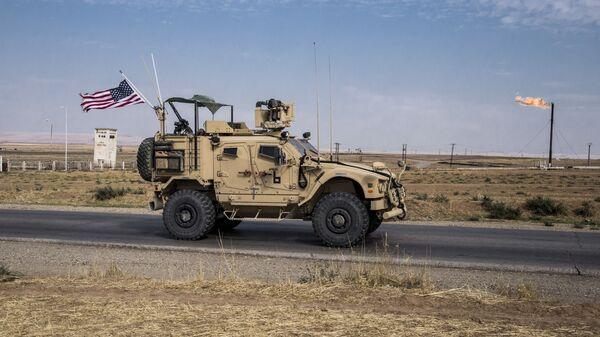 Une patrouille américaine en Syrie - Sputnik France