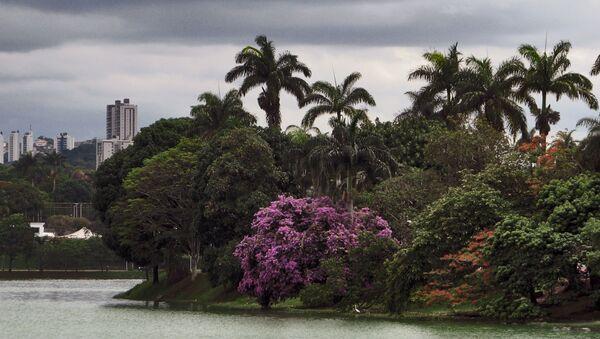 Lac artificiel de Pampulha, à Belo Horizonte - Sputnik France