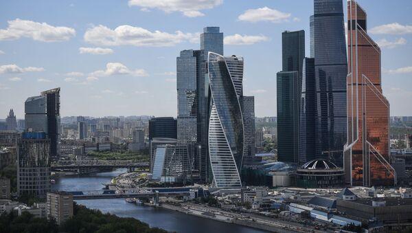 La vue du quartier d'affaires Moskva-City, le Centre de commerce international de Moscou   - Sputnik France
