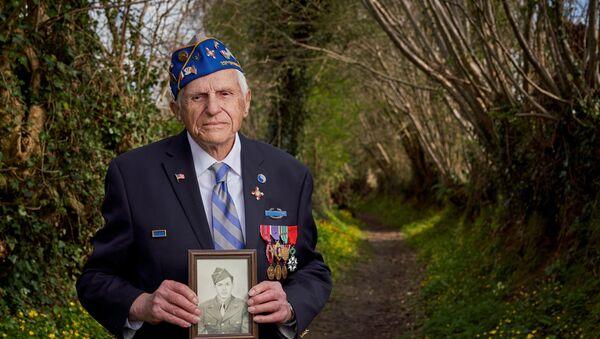Steven Melnikoff, vétéran américain centenaire  - Sputnik France