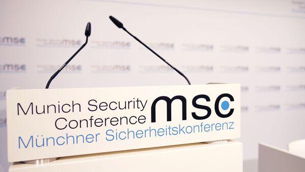 Мюнхенская конференция по безопасности - Sputnik France