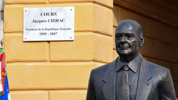 La statue de Jacques Chirac à Nice - Sputnik France