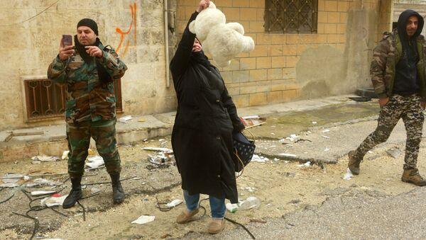 Les habitants de Maaret al-Numan, dans le gouvernorat d'Idlib, sont de retour dans leur ville  - Sputnik France