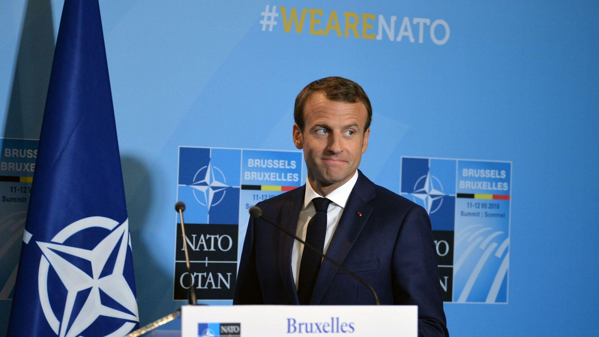 Саммит НАТО в Брюсселе. День второй - Sputnik France, 1920, 23.09.2021