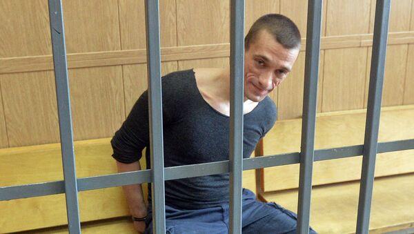 Pavlenski lors de son jugement à Moscou - Sputnik France