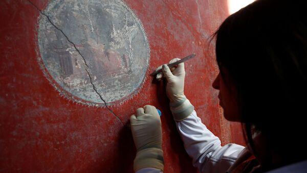 Luxe d'antan: des fresques uniques à admirer dans des villas de Pompéi ouvertes à la visite  - Sputnik France