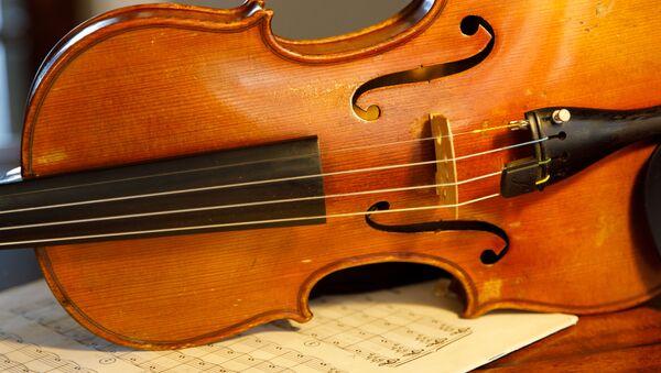 Un violon (image d'illustration) - Sputnik France