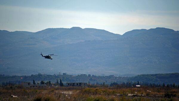 La base aérienne de Hmeimim, en Syrie - Sputnik France