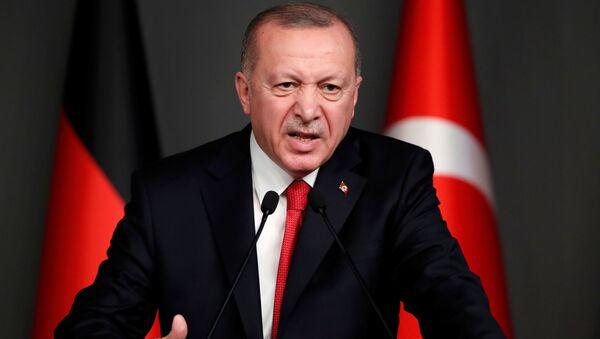 Recep Tayyip Erdogan, presidente turco - Sputnik France