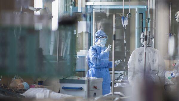 Un hôpital à Wuhan pendant la pandémie de Covid-19 - Sputnik France