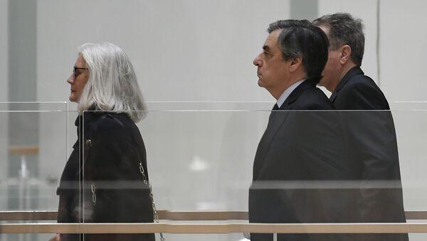 Francois et Penelope Fillon - Sputnik France