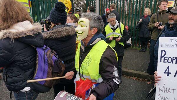Des partisans d'Assange organisent une manifestation à Londres - Sputnik France
