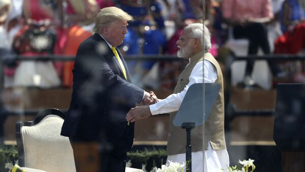 Donald Trump et Narendra Modi - Sputnik France