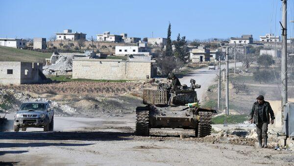 Des militaires syriens dans le sud du gouvernorat d'Idlib, archives - Sputnik France