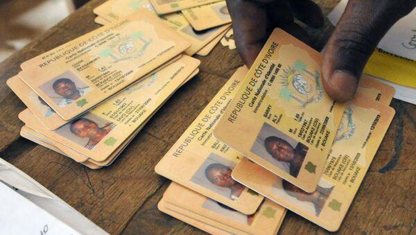 Carte nationale d'identité Côte d'Ivoire - Sputnik France