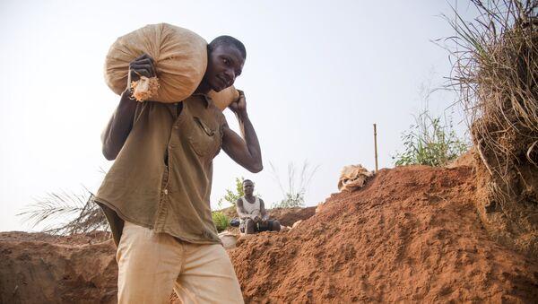 Mineur de diamant en République démocratique du Congo - Sputnik France