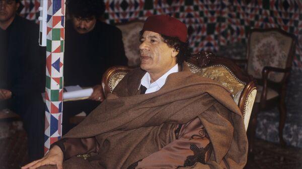 Mouammar Kadhafi  - Sputnik France