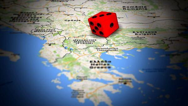 Carte des Balkans - Sputnik France