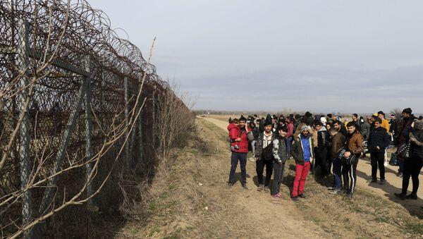 La frontière entre la Turquie et la Grèce à Edirne - Sputnik France
