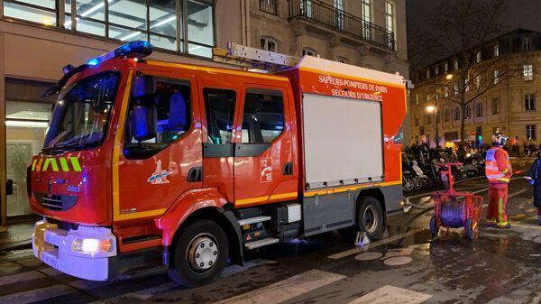 Incendie à la gare de Lyon, 28 février 2020 - Sputnik France