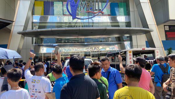 Prise d'otages dans un centre commercial à Manille - Sputnik France