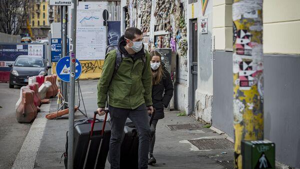 L'epidemia del coronavirus in Italia - Sputnik France