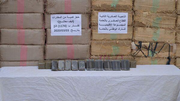 Saisie de 1174 kilogrammes de résine de cannabis à Nâama, Algérie - Sputnik France