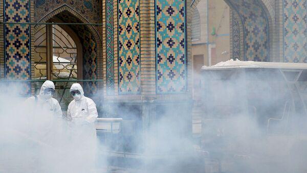 Épidémie de coronavirus Covid-19 en Iran (archive photo) - Sputnik France