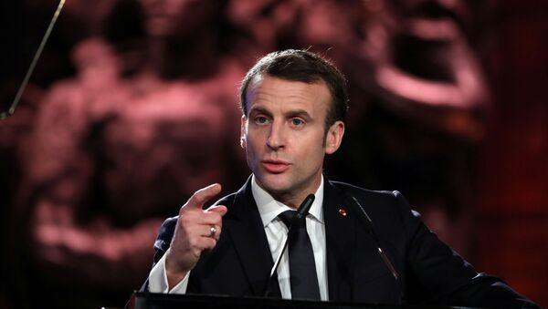 Presidente da França, Emmanuel Macron - Sputnik France