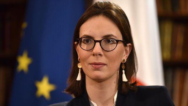 France's Junior Minister for European Affairs Amelie de Montchalin in London - Sputnik France