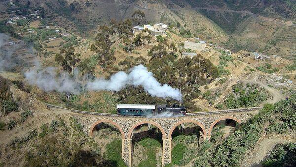 Érythrée, chemin de fer entre Arbaroba et Asmara - Sputnik France