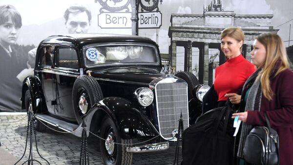 Exposition d'automobiles anciennes Oldtimer-Gallery à Moscou  - Sputnik France